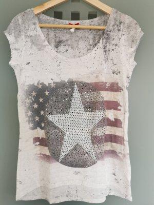 Rockiges T-Shirt von Key Largo (S)