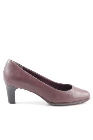 Rockport High Heels rot-braun Elegant