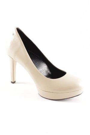 Rockport High Heels creme schlichter Stil