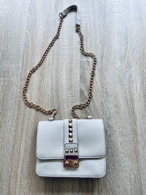 BCBG Torebka mini kremowy-złoto