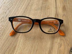 Rodenstock Gafas negro-naranja acetato
