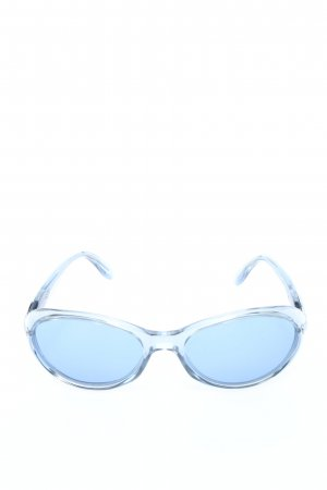 Rodenstock Occhiale da sole ovale blu stile casual