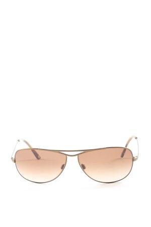 Rodenstock Okulary pilotki złoto-brązowy W stylu casual