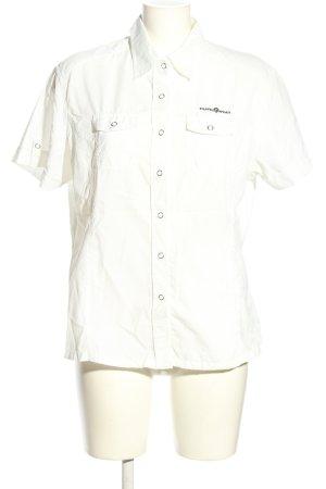 Rodeo Camisa de manga corta blanco look casual
