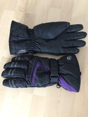 C&A Guanto termico nero-viola scuro