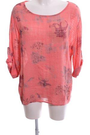 Rodier Slip-over blouse bloemenprint casual uitstraling