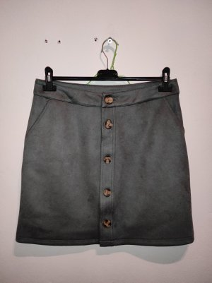 C&A Yessica Falda de seda gris verdoso