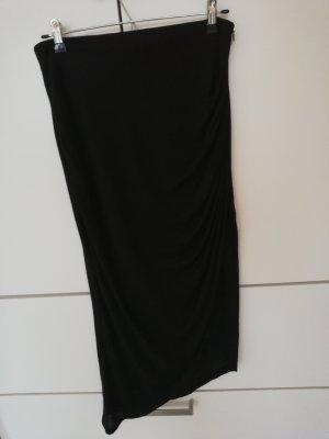 Polo Garage Asymmetry Skirt black