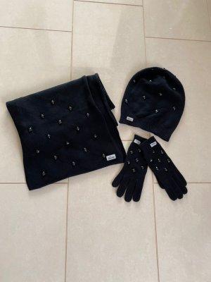 Roeckl Écharpe en laine noir