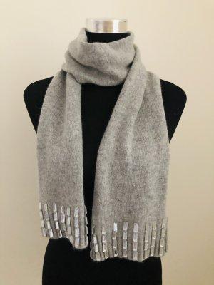 Roeckl Sciarpa di lana grigio chiaro