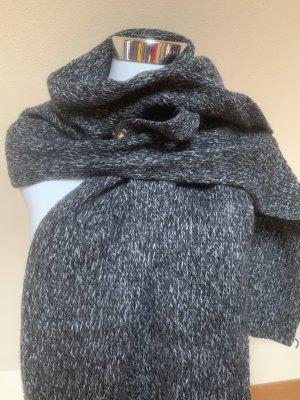 Roeckl Bufanda de lana negro-gris