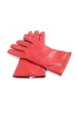 Roeckl Guantes con dedos rojo look casual