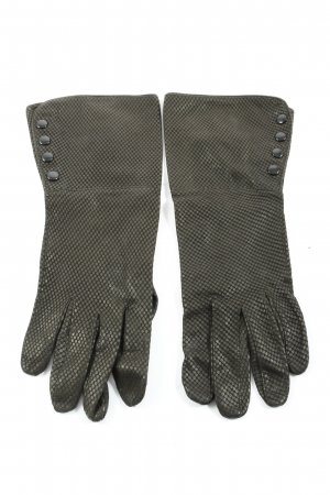 Roeckl Gloves black allover print casual look