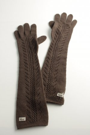 Roeckl Gloves bronze-colored casual look