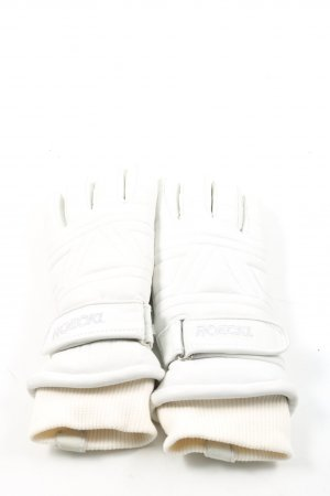 Roeckl Padded Gloves white casual look