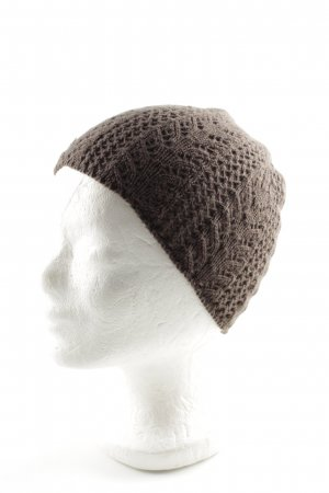 Roeckl Cappello all'uncinetto marrone stile casual
