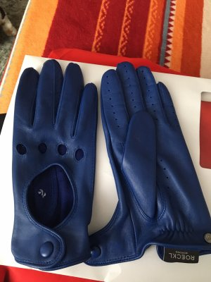 Roeckl Leather Gloves blue