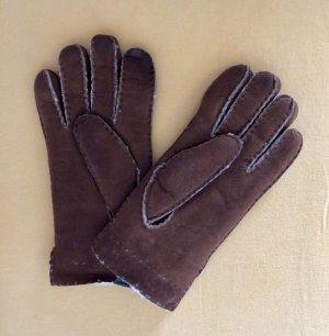 Roeckl Gants en cuir brun