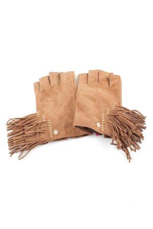 Roeckl Leren handschoenen wolwit casual uitstraling