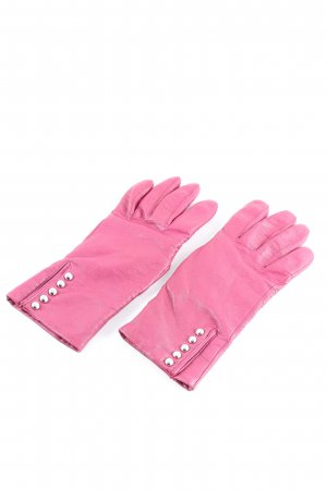Roeckl Leather Gloves pink casual look
