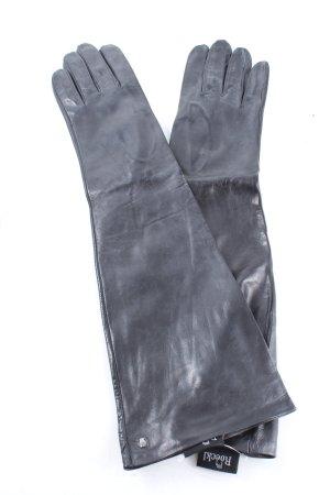 Roeckl Leren handschoenen lichtgrijs casual uitstraling