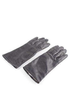 Roeckl Leren handschoenen zwart zakelijke stijl