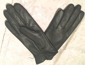 Roeckl Lederhandschuhe Gr. 7,5 schwarz warm gefüttert neu