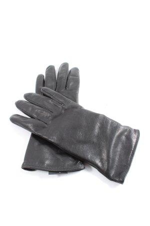 Roeckl Guanto in pelle nero stile casual