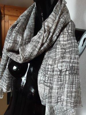 Roeckl Bufanda de flecos gris claro-gris modal