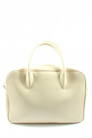 Roeckl Laptop bag natural white themed print casual look