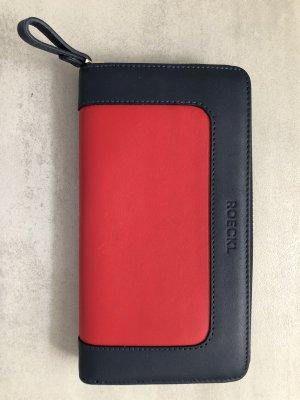 Roeckl Wallet red-dark blue