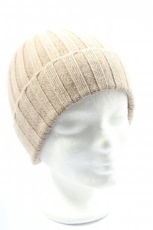 Roeckl Knitted Hat cream themed print casual look