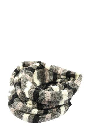 Roeckl Écharpe ronde blanc cassé-gris clair motif rayé style décontracté