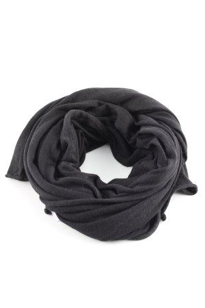Roeckl Bufanda de seda negro look casual