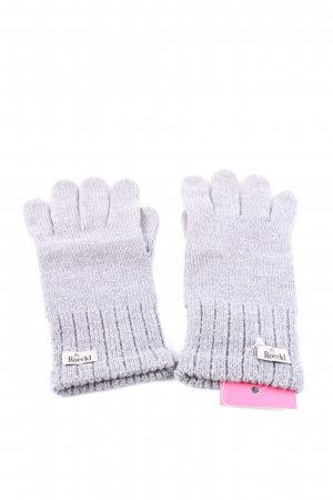 Roeckl Knitted Gloves light grey casual look