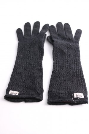 Roeckl Knitted Gloves black cable stitch casual look
