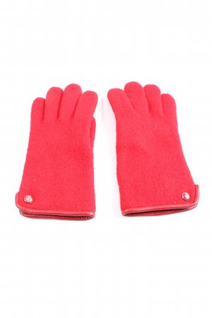 Roeckl Knitted Gloves red casual look