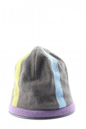 Roeckl Knitted Hat striped pattern casual look