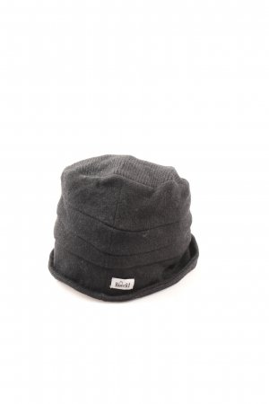 Roeckl Knitted Hat light grey flecked casual look