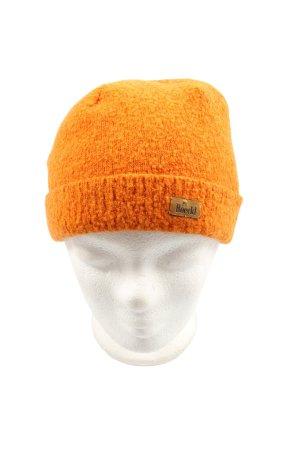 Roeckl Cappello a maglia arancione chiaro stile casual