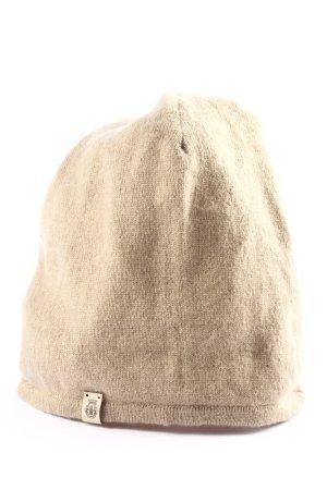 Roeckl Sombrero de punto crema look casual
