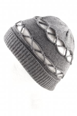 Roeckl Knitted Hat light grey casual look