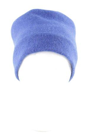 Roeckl Chapeau en tricot bleu torsades style décontracté