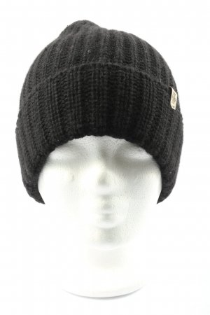 Roeckl Knitted Hat black cable stitch casual look