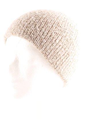 Roeckl Chapeau en tricot gris brun style décontracté