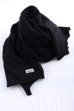 Roeckl Bufanda de punto negro look casual