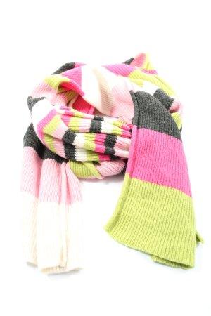 Roeckl Écharpe en tricot motif rayé style décontracté