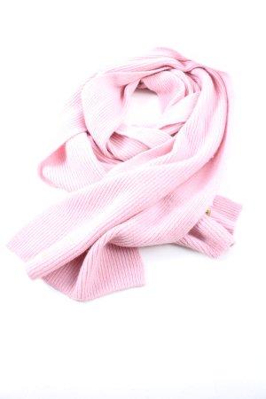 Roeckl Bufanda de punto rosa look casual