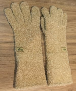 Roeckl Knitted Gloves camel mixture fibre
