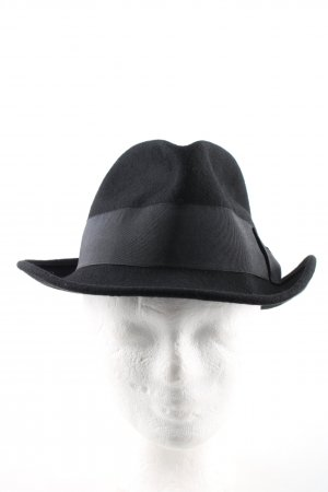 Roeckl Wollen hoed zwart casual uitstraling